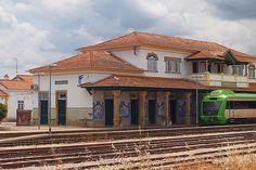 Beira station train Marvao,  Alentejo, Portugal