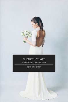 Elizabeth Stuart Isabelle Gown- Wedding Chicks 'Elizabeth Stuart 2016 Bridal Collection' #elizabethstuart