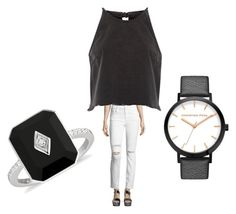 """Untitled #4928"" by bellagioia ❤ liked on Polyvore featuring J Brand and River Island"