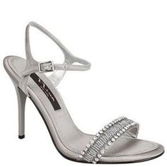 Silver wedding shoes, part 2