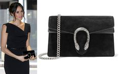 d64f456ddf55 Gucci Dionysus Super Mini Black Suede Bag - Meghan Markle s Handbags