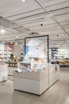 Discover beautiful Swedish design, stationery, homewares and more at kikki. Stationary Shop, Stationery Store, Shop Interior Design, Retail Design, Showroom, Bookstore Design, K Store, Store Layout, Store Interiors