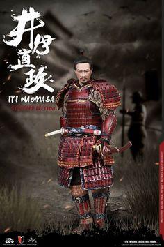 Tokugawa Ieyasu, Ghost Of Tsushima, Samurai Armor, Katana, Top Knot, Red And Blue, Empire, Japanese, Costumes