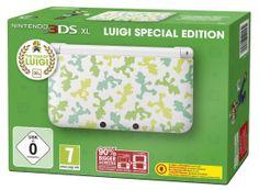 Console Nintendo 3DS XL édition limitée Luigi: Amazon.fr: Jeux vidéo