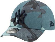 NY Yankees New Era Kids 940 Camo Fabric Baseball Cap (Ages 2 - 10 year ce1ac5e909d