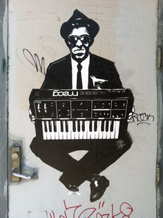 Moog × The Rogue #wheatpaste #poster