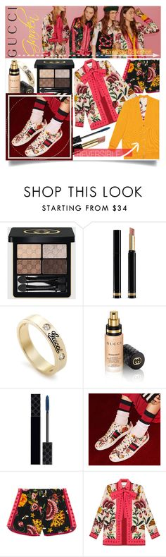 """Presenting the Gucci Garden Exclusive Collection: Contest Entry"" by idontbelieveinhumans ❤ liked on Polyvore featuring Gucci and gucci"