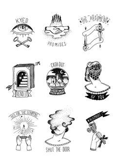Tattoo flash - Ainize Santos