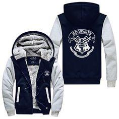 Harry Potter Hogwarts School Hooded Jacket