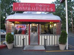 How Cute is this little Burger Joint??
