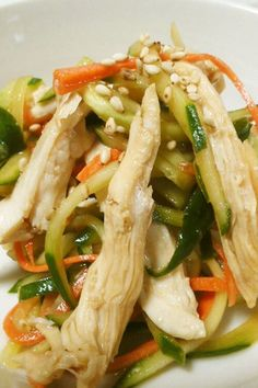 鶏肉の中華サラダ