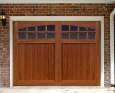 Sunburst Garage Door - traditional - garage doors - nicksbuilding.com