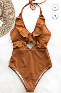 Stay With You Falbala One-piece Swimsuit Day Sale! - Stay With You Falbala One-piece Swimsuit - Strand Kimono, Cute Bathing Suits, Cute Swimsuits, Women Swimsuits, Lingerie, One Piece Swimsuit, Bikini Swimsuit, Summer Bikinis, Womens Fashion
