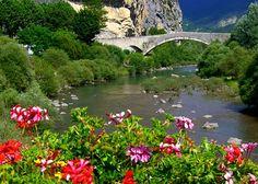 Le Verdon à Castellane .( Alpes. France)