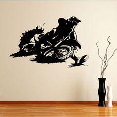 Quality Motorbike Dirtbike Sports Wall Sticker
