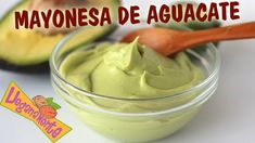 Mayonnaise of Avocado Vegan Avocado Recipes, Healthy Recipes, Juice Plus, Vegan Life, Chutney, Deli, Peanut Butter, Food And Drink, Low Carb