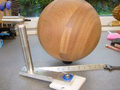 Large Sphere New Sphere Jig www.paulhowardwoodturner.co.uk