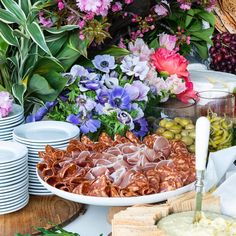 Client: Gallivant Events Saturday Morning, Sunday, Grazing Tables, Greenery, Table Decorations, Breakfast, Flowers, Events, Instagram