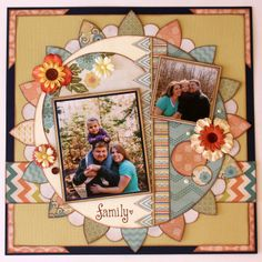 Scrapbook Layout Papercrafting My Minds Eye: Indie Chic