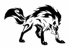 wolf 3 vinyl car sticker, decal, window oracal 651