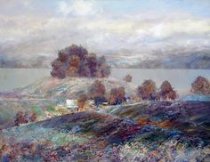 Bright Autumn by Konstantin Golovin