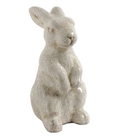 Look at this #zulilyfind! Medium Terra-Cotta Rabbit Statue by A&B Home #zulilyfinds