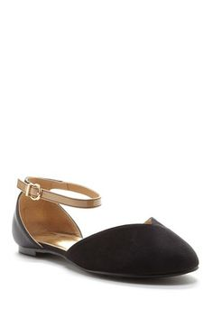 InTouch Footwear Yandy Ankle Strap Flat by Non Specific on @HauteLook