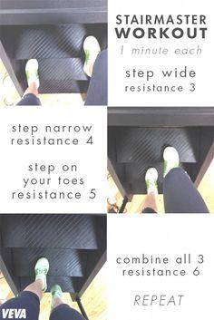 8 Minute Stairmaster Workout | Veva Health