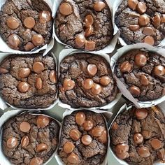 Flourless-Moist-Gooey-SIMPLE Makes 12 regular muffins Preheat oven to 350f Ingredients: 2 large beaten eggs (room temp) 2 cups PB or Almond Butter (creamy smooth-room temp works best) 1/2 cup pure maple syrup 1.5 cups pure pumpkin puree 6 Tbsp unsweetened... #chocolate #cleandesserts #flourless
