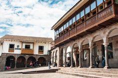 Architecture typique de Cusco au Pérou