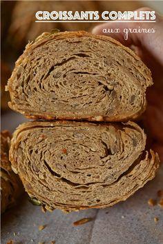 Croissants complets aux graines faciles | Cuisine en Scène, le blog cuisine de Lucie Barthélémy - CotéMaison.fr