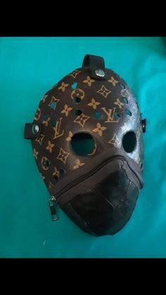 ed9298c821418 louis vuitton zipper mask  Handmade  louis  vuitton  zipper  mask  Handmade
