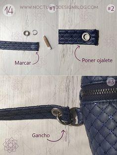 aro Diy Purse, Design Blog, Belt Bags, Purses, Personalized Items, Sewing, Vest, Accessories, Ideas