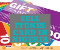 Sell Itunes Card In Nigeria Itunes Card Cards Gift Card