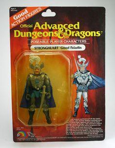Advanced Dungeons Dragons, Strongheart, LJN TSR, 1983