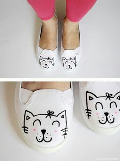 #DIY #cat #sharpie