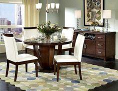 muebles decoración para comedor redondo