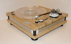 Turntable. #recordplayer #turntable http://www.pinterest.com/TheHitman14/the-record-player-%2B/