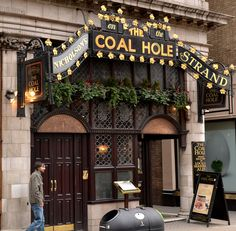 The Coal Hole Pub, London