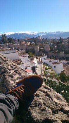 La Alhambra y Sierra Nevada.