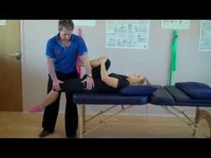 How to assess the Psoas, rectus femoris, hamstrings and adductors Muscle length tests - YouTube