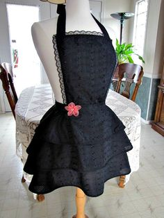 Classy Aprons, Sexy Aprons, Fancy Aprons  by TrophyWifeAprons, $65.00