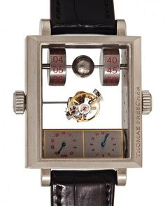 Thomas Prescher  Mysterious Automatic Double Axis Tourbillon