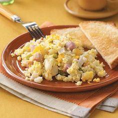 Hash Brown Egg Breakfast