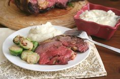 Are you intimidated by the idea of cooking big roasts for the holidays? Don't be! At least in the case of this standing rib roast, or prime rib, it's easy and always delicious.