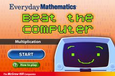 My kids love playing this competitive (but do-able) game that builds their multiplication math facts!