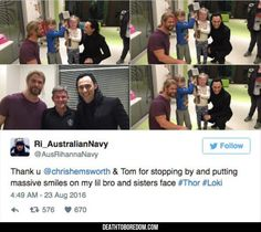 Loki And Thor Visit A Kid's Hospital - 9 images