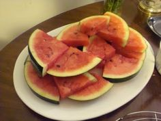 Tequila-Soaked Watermelon Slices