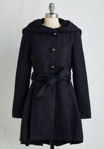 Once Upon a Thyme Coat in Midnight Blue | Mod Retro Vintage Coats | ModCloth.com