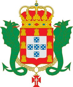 Coat of arms of the Kingdom of Portugal (Enciclopedie Diderot) - Symbols of Portugal - Wikipedia, the free encyclopedia Portuguese Empire, Portuguese Flag, Portuguese Culture, Portugal, National Symbols, Royal House, Family Crest, Symbolic Tattoos, Coat Of Arms